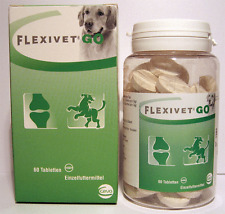 FLEXIVET GO - 60 Tabletten Glucosamine flexibel dosieren / 1 Tablette = 0,90€