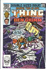 Marvel Two-in-One #100 VFN/NM 1983 last issue John Byrne Marvel Comics US Comics