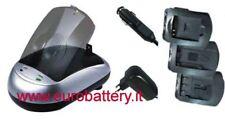 Carica batteria CANON NB-5L Ixus 800 900 PowershotSD700