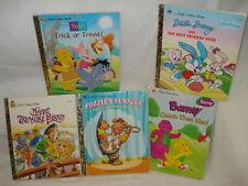 Set of 5 Little Golden Books - 1990's HC Very Good Condition
