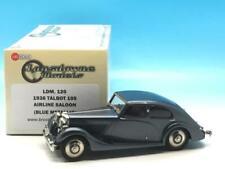 LANSDOWNE MODELS 1936 TALBOT 105 AIRLINE SALOON BLUE METALLIC LDM 120 1/43