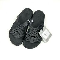 Malibu The Modern Huarache Sandals Black Size EU 41 Mens 8 Womens 10 NWT