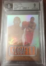 2003 03/04 Topps Jersey Edition Copper Draft /99 Lebron James Rookie BGS 9