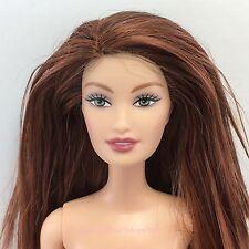 Red Orange Auburn Hair FASHION FEVER DREW Ana Lara Face Green Eye Barbie Doll GW