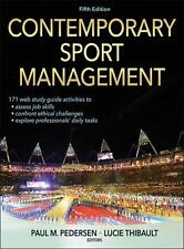 Contemporary Sport Management-5th Edition with Web Study Guide (2014, Hardcover)