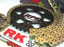 Honda CBR1000RR 2006-2007 RK GXW Gold 520 -1/+2t Chain and Sprocket Kit