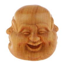 Sculpture de tête de Bouddha à quatre faces ornement intérieur jardin