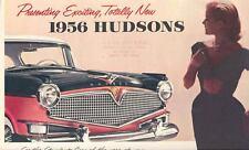 1956 Hudson Hornet & Wasp Brochure 150927-NBQPXS
