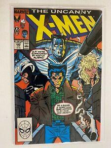 Uncanny X-Men #245 4.0 VG (1989)