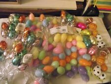 Easter Eggs Lot of 130 pieces New in Packages