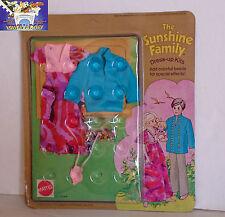 Mattel - The Sunshine Family Dress-Up Kit  Anni '70 Vintage Famiglia Felice