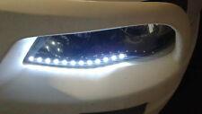 Flexible Water-proof LED Car DRL Light Strips - White (2PCS / 30cm) 3528 6000K