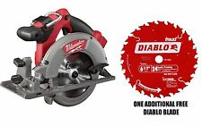 NEW IN BOX Milwaukee 2730-20 M18 18V FUEL 6-1/2in. Circular Saw + FREE D0624A