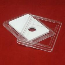 5 Slab Coin Holders for Coronet Gold $1.00 #28 with White Insert
