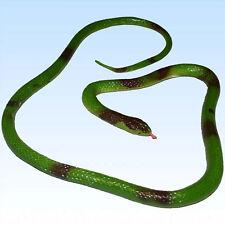 Riesige Gummi Schlange ca. 118 cm  Gummischlange Schlangen Dekoration Reptil