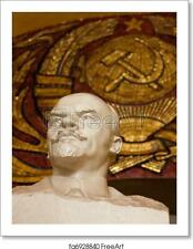 Lenin Statue In Moscow Art Print / Canvas Print. Poster, Wall Art, Home Decor