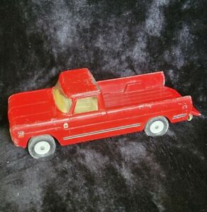 """Vintage ERTL Toy Harvester International 12"""" Red Truck"""