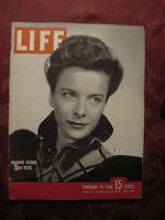 LIFE magazine February 16 1948 Joan Tetzel Inyokern Tennessee Williams Bat Bombs