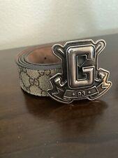 gucci belt men 38 Authentic 100%