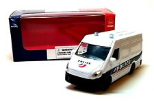 POLICE VAN in White - 1:43 Die-Cast Emergency Services Vehicle Model by NewRay