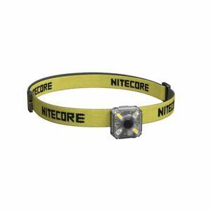 Nitecore NU05 KIT, Mini LED-Leuchte, rot oder weiß, mit USB, inkl. Stirnband