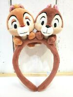 Tokyo Disney Resort Disney Headband Chip and Dale Brown Years Hat Japan TDR TDL
