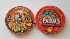$5 Las Vegas Palms KISS Casino Chip - Version #3 - UNCIRCULATED