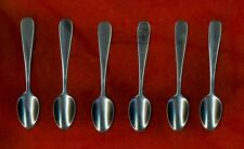 World Tableware WINDSOR 6 Stainless Demitasse Spoons Mint NEW.FREE Shipping!
