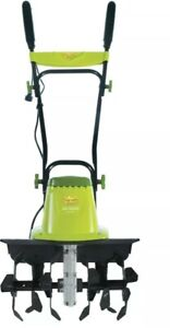 Electric Garden Tiller Cultivator Outdoor Power Equipment Durable Steel Powerful