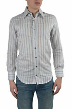 "Dolce & Gabbana ""Slim Fit"" Men's Multi-Color Striped Dress Shirts US 15 IT 38"