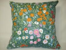 GARDEN FLORAL DECORATIVE ACCENT THROW PILLOW COVER 16x16