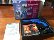 Mad Dog McCree cd-i Peacekeeper Revolver and Game in Box 22 ER 9020 by Philips