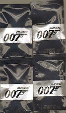 JAMES BOND 007 EDT 1.2ml  x 4   SAMPLE VIALS NEW BAGGED