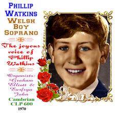 Philip Watkins Welsh Boy Soprano 1970