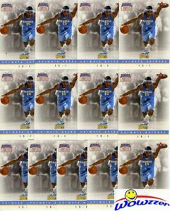 (13) 2003/04 Fleer NTCD #8/9 Carmelo Anthony ROOKIE Card Lot MINT! FHOF