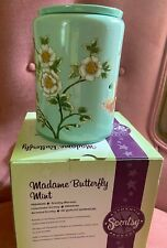 ~~Scentsy MADAME BUTTERFLY Mint Warmer, Stunning, NEW in Box, Perfect!~~