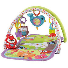 Baby Play Mat Activity Gym Soft Floor Musical Fox Toy Woodland Infant Playmats