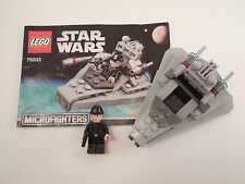 LEGO Star Wars #75033 Star Destroyer Small Set w/ Instructions Mostly Complete