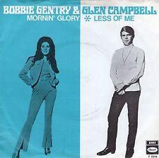 7inch BOBBIE GENTRY & GLEN CAMPBELL mornin glory HOLLAND 1968