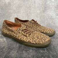 VANS Brown Leopard Print Trainers Unisex Men US 7 / Womens US 8.5 UK 6.5