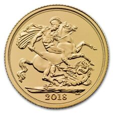 Pièce or Souverain Royaume Uni 2018 | Gold coin sovereign UK