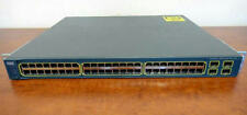 Cisco WS-C3560-48PS-S Catalyst 3560 1U 48-Port 10/100 PoE & 4 SFP Gigabit Switch