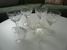 Gedeckter Tisch Glaswaren Genießen 6 Weingläser Gläser Gläserset Stielgläser