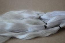 "Mohair Doll Hair platinum blonde 8-11"" in 0.35 oz locks angora DIY baby reborn"