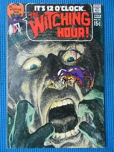 THE WITCHING HOUR # 13 - (NM) -NEAL ADAMS COVER -NEW YEAR'S EVE-WITCHING HOUR