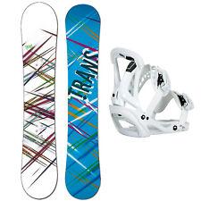 Donna Snowboard Trans Premium 144 cm Bacca + Sonic Attacchi Tgl M + Stivali | eBay