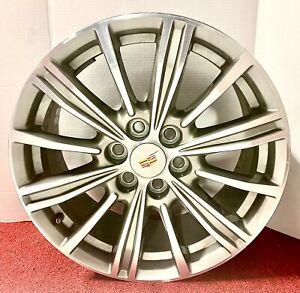 "Factory Cadillac XT5 Machined Wheel 2017 2018 2019 GM OEM 18"" 4798 22996318"