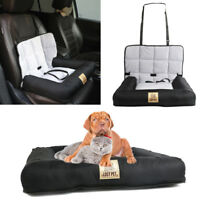 Waterproof Pet Dog Booster Car Seat Safe Basket Travel Auto Carrier Cushion Bed