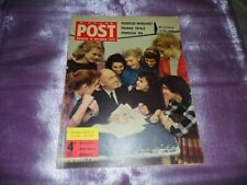 PICTURE POST MAGAZINE 15th OCT 1956 Cover PREMINGER CHOOSES HIS St. JOAN