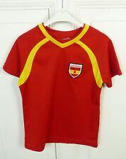 Trikot Espana T-Shirt Sport Rot Gelb Gr. 116 (HG130)